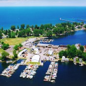 View of Sodus Bay